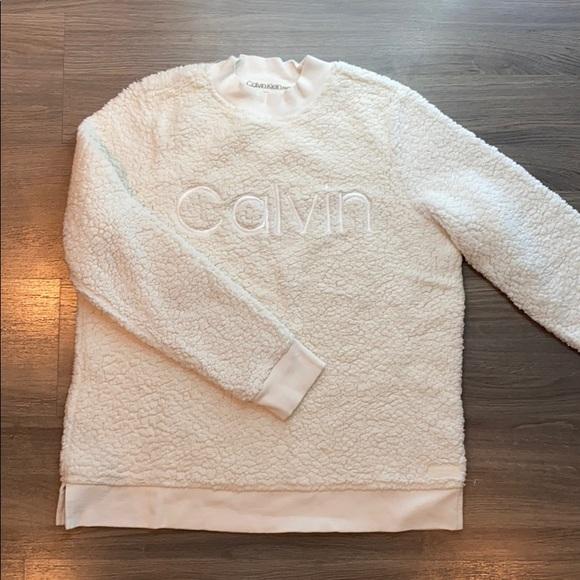 Calvin teddy sweater